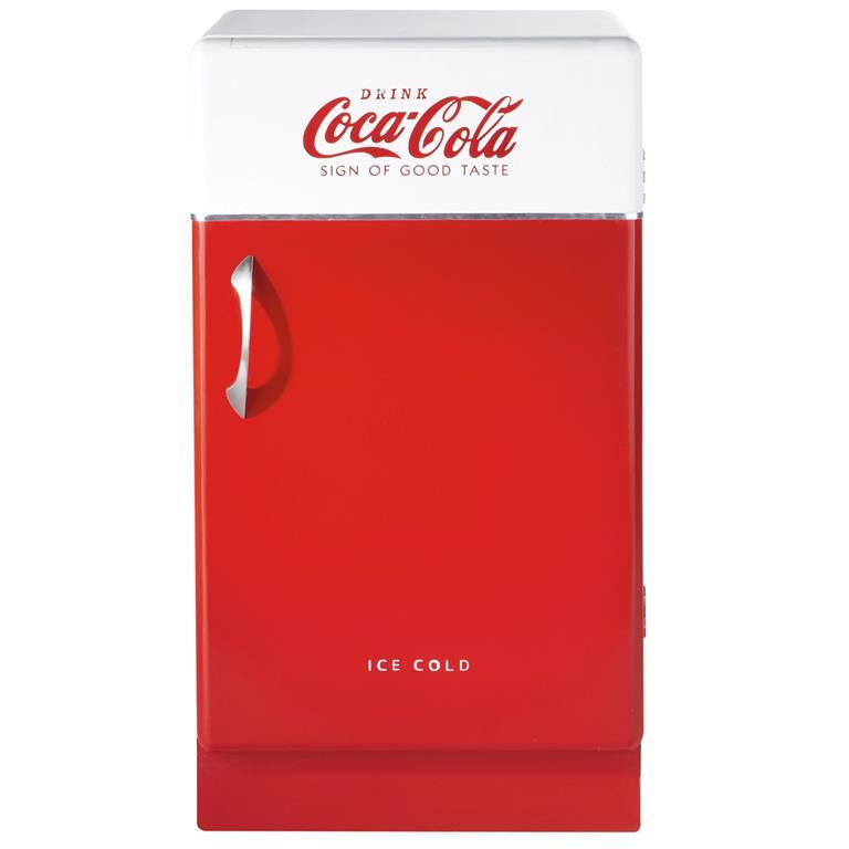 cabinet rouge et blanc coca cola maisons du monde ref 121618. Black Bedroom Furniture Sets. Home Design Ideas