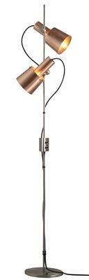 Lampadaire Chester / H 140 cm - 2 abats-jours ajustables & orientables
