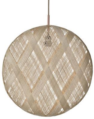 Suspension Chanpen Diamond / Ø 52 cm - Forestier beige en tissu