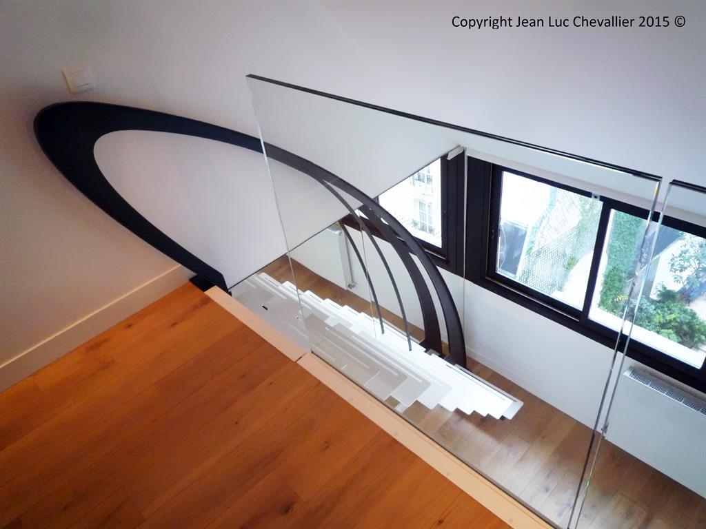 Escalier design profil Mozart