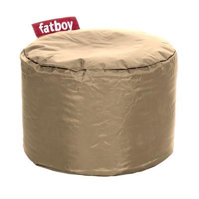 Pouf Point - Fatboy Ø 50 x H 35 cm sable en tissu