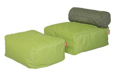 Chauffeuse Tsjonge-jongetje Junior / Avec pouf - Fatboy vert