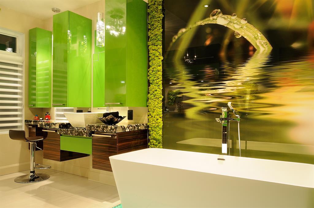 Revetement mur de salle de bain domozoom - Panneaux muraux pour salle de bain ...