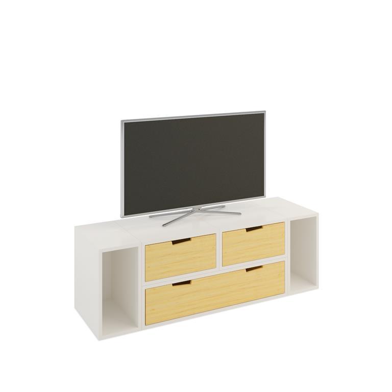 Meuble tv brick espace loggia ref domozoom for Chez brick meuble