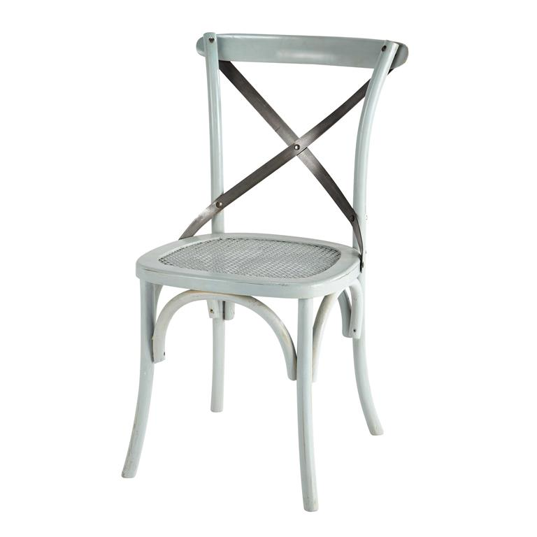 Chaise bistrot bleue Tradition