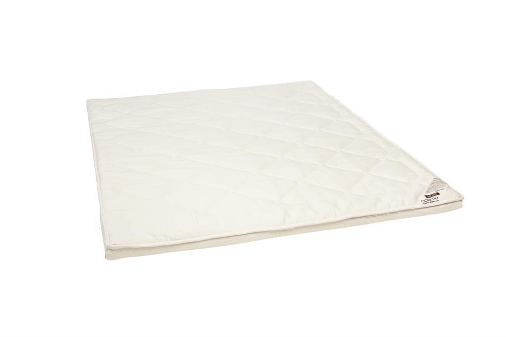 Surmatelas souple latex 100% naturel 140x190