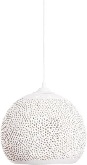 Suspension en céramique blanc SpongeUp