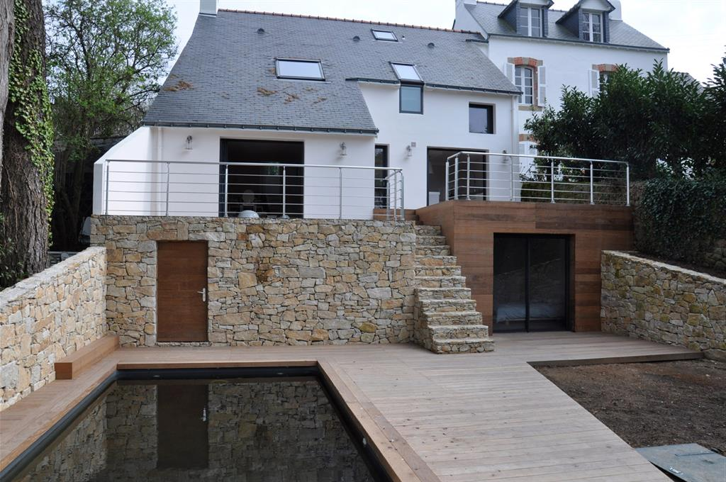Avant apr s r novation d une maison des ann es 70 l for Comment trouver l architecte d une maison