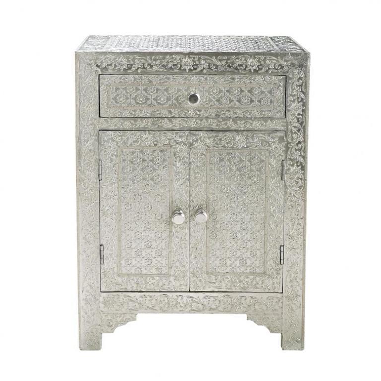 Chevet En Manguier 45 Cm Jaïpur Table Indienne Massif L De dCxoeWrB