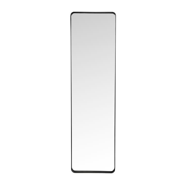 Miroir en métal noir H 90 cm COPERNIC
