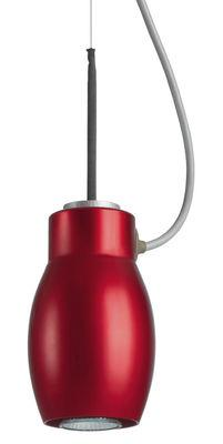 Suspension Blossom - Booky - Belux rouge en métal