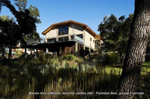 Maison Bois D'Architecte À Moliets, Landes (40) - Domozoom.Com