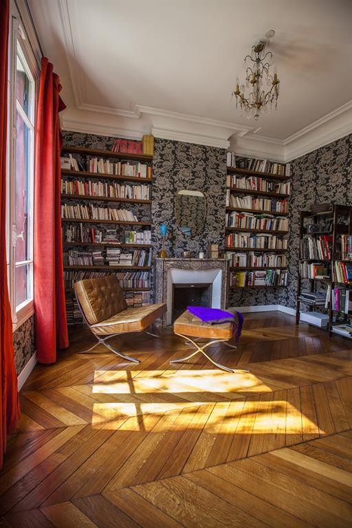 Image Ambiance baroque dans cette bibliothèque