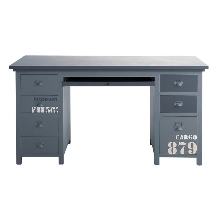 Bureau gris Cargo