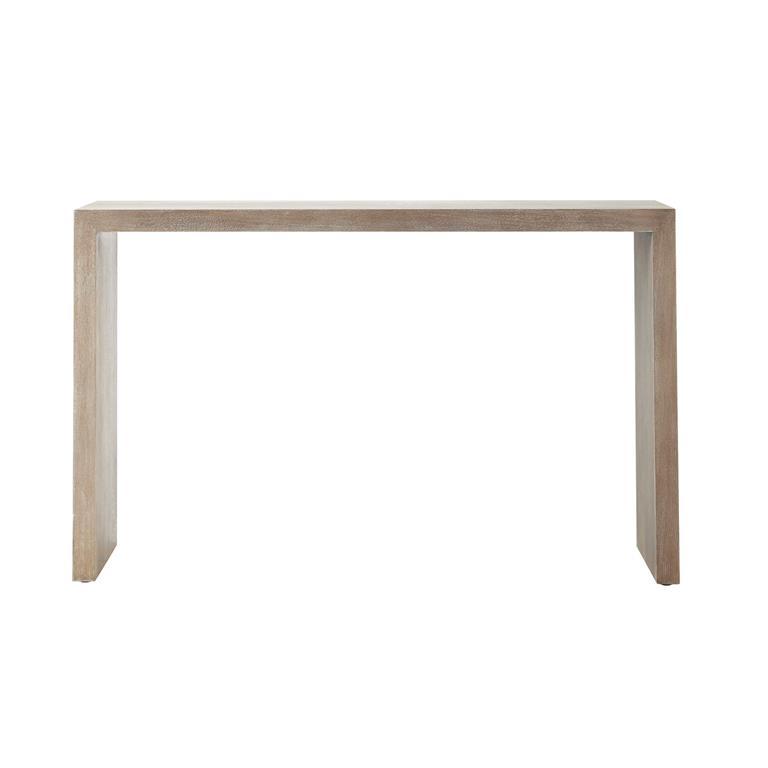 Console en bois blanchi L 130 cm Baltic