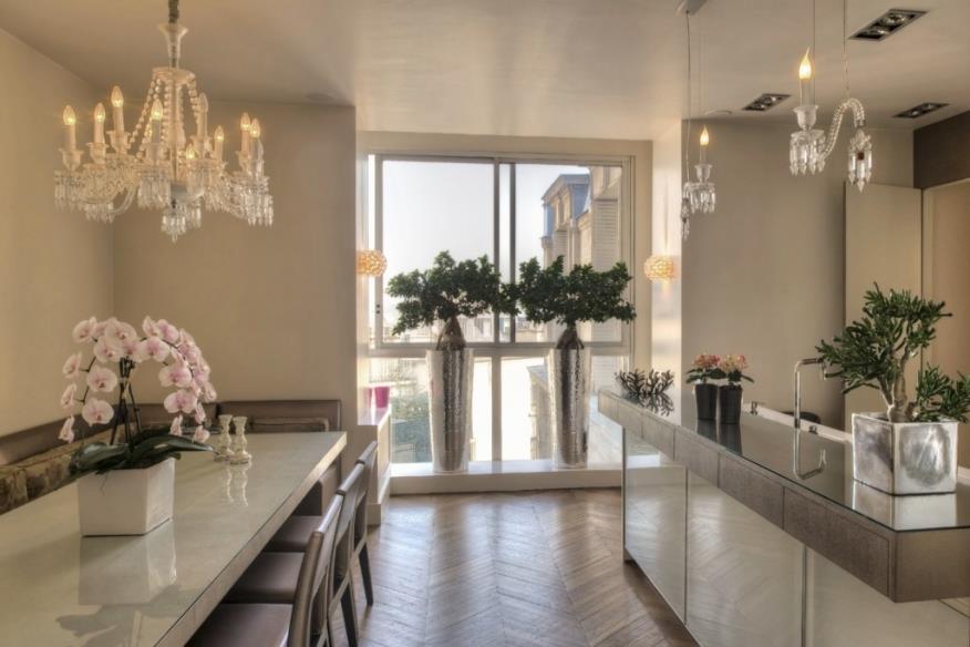 cuisine ouverte sur salon salle a manger » Photos de design d ...