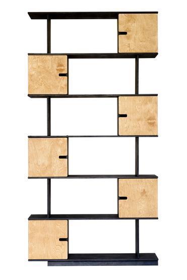 Etagère 6 niveaux en chêne Pix - Radis
