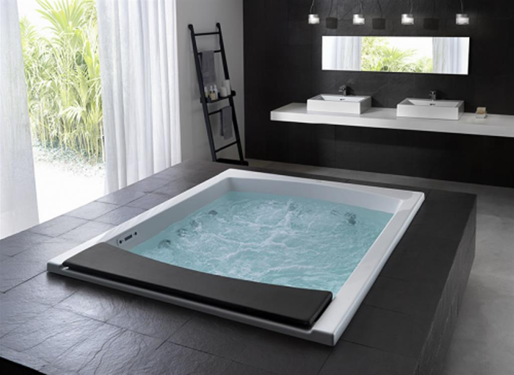 Salle de bain moderne avec jacuzzi Benoît Peyrat photo n°24