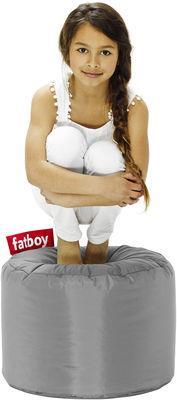 Pouf Point - Fatboy Ø 50 x H 35 cm argent en tissu