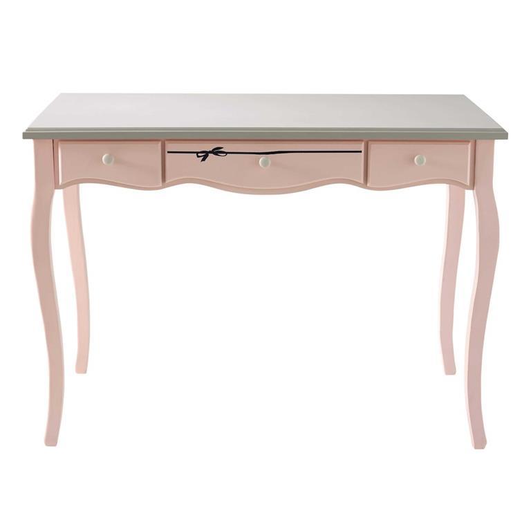 Bureau rose et gris Paris mode
