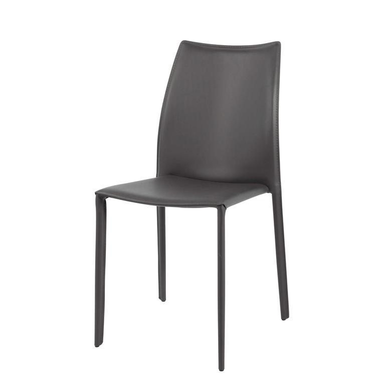 Chaise en synderme gris
