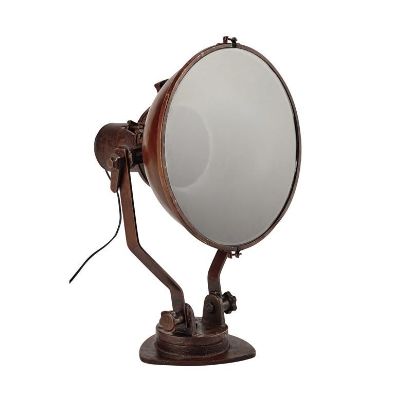 Lampe en fonte et métal H 46 cm CARGO