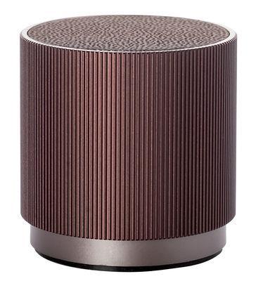 Enceinte Bluetooth Fine Speaker / Sans fil - Rechargeable - Lexon Bordeaux