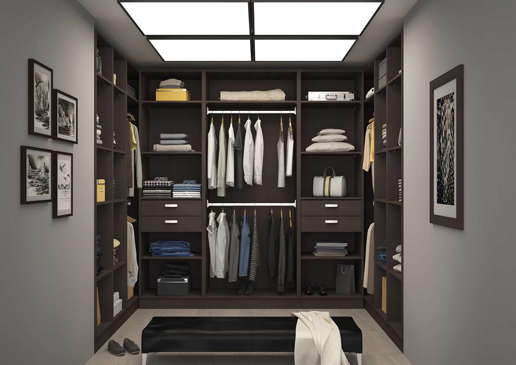 dressing room en u sur mesure photo n 12. Black Bedroom Furniture Sets. Home Design Ideas