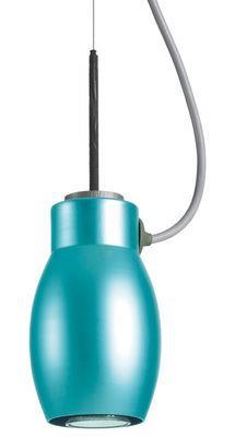 Suspension Blossom - Booky - Belux turquoise en métal