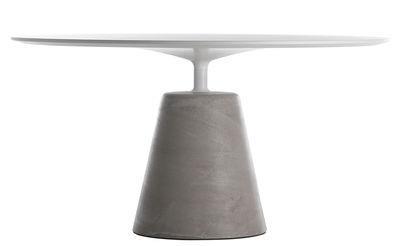 Table Rock / Ø 140 cm - MDF Italia Blanc