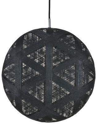Suspension Chanpen Hexagon / Ø 52 cm - Forestier noir en tissu
