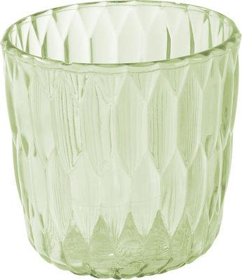 vase jelly seau glace corbeille kartell vert transparent en mati re plastique. Black Bedroom Furniture Sets. Home Design Ideas