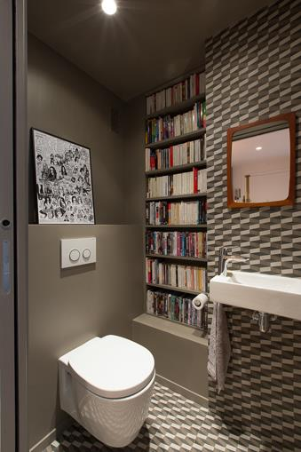 Cabinet De Toilette Tons Taupe Archipelles Photo N 76