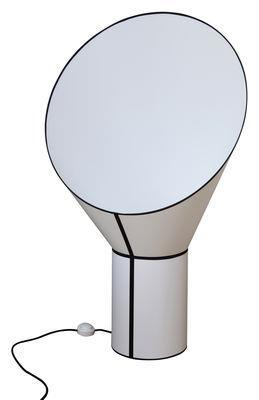 Lampe de sol Grand Cargo H 117 cm - Designheure blanc en tissu