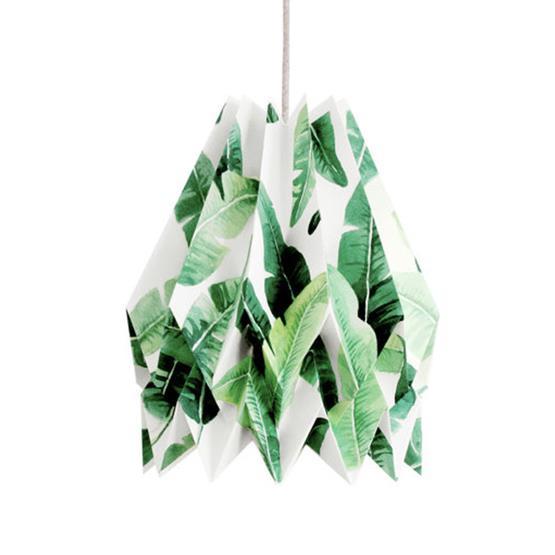 Abat-jour tropical en papier - Orikomi