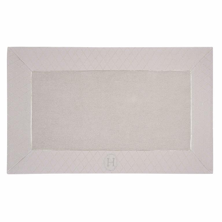 Tapis de bain en coton beige 50 x 80 HÔTEL