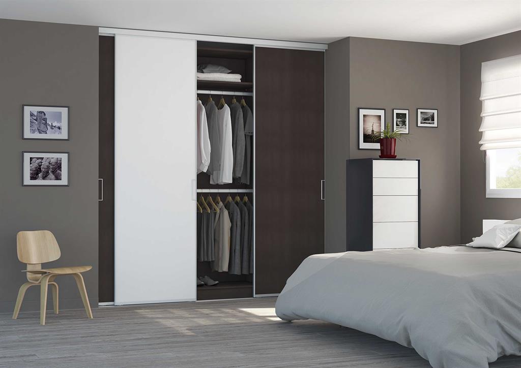 placard dressing avec portes coulissantes. Black Bedroom Furniture Sets. Home Design Ideas