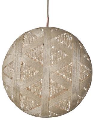 Suspension Chanpen Hexagon / Ø 52 cm - Forestier beige en tissu