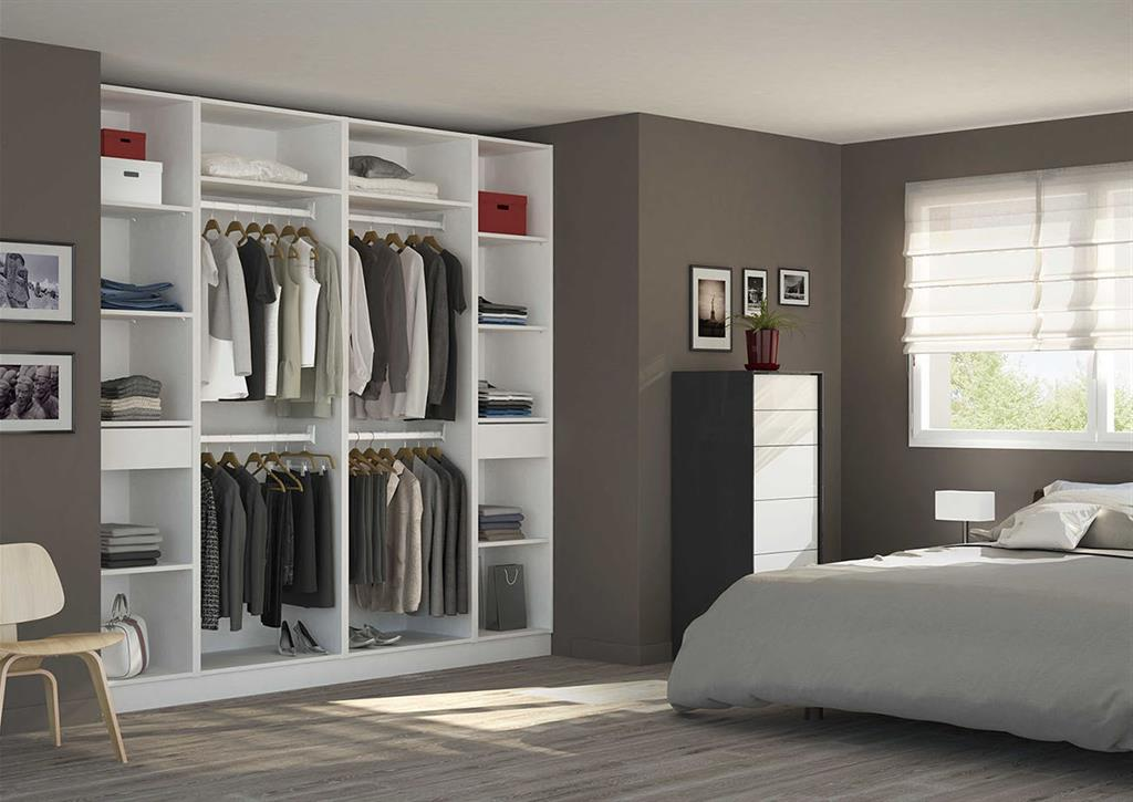 placard dressing chambre d 39 adulte. Black Bedroom Furniture Sets. Home Design Ideas