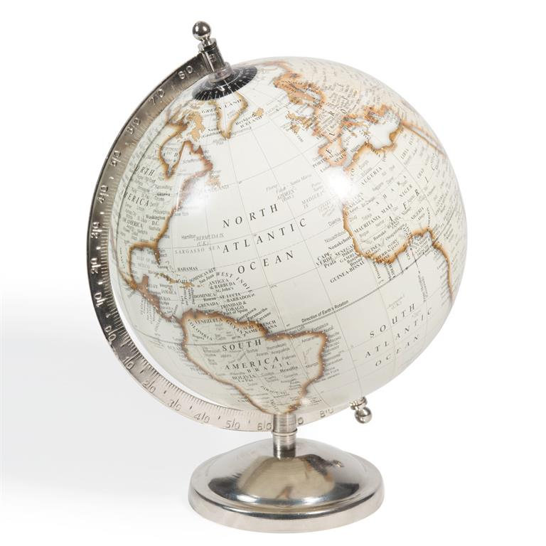 globe terrestre carte du monde cl mence maisons du monde. Black Bedroom Furniture Sets. Home Design Ideas
