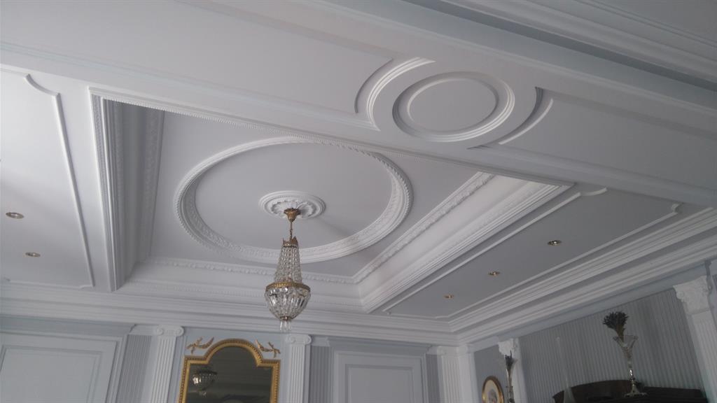 Un plafond tout en subtilité