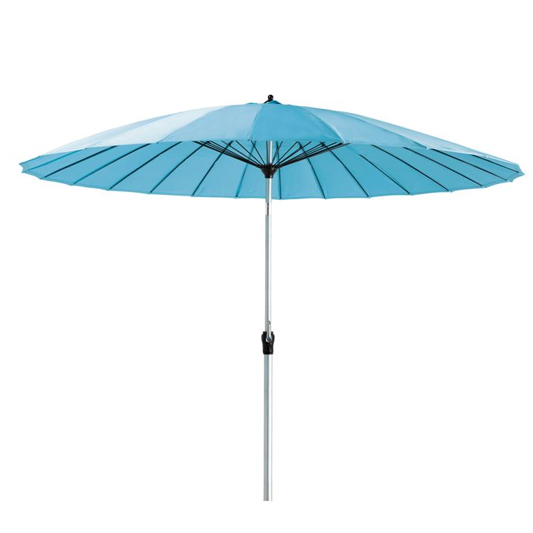 Parasol de jardin turquoise Papaye