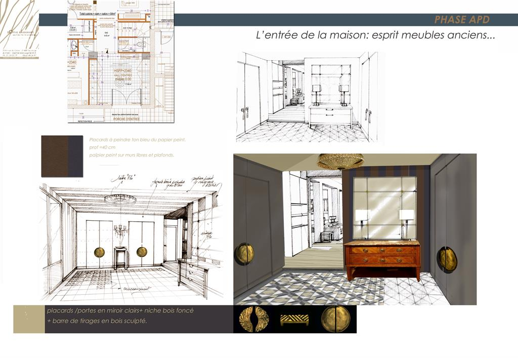 r novation maison ann e 50. Black Bedroom Furniture Sets. Home Design Ideas