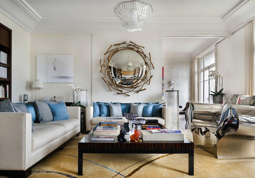 bien aim d coration appartement haussmannien moderne gr07 humatraffin. Black Bedroom Furniture Sets. Home Design Ideas