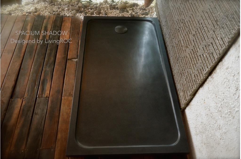 Receveur spacium granit noir 140x90 - Receveur graniet ...