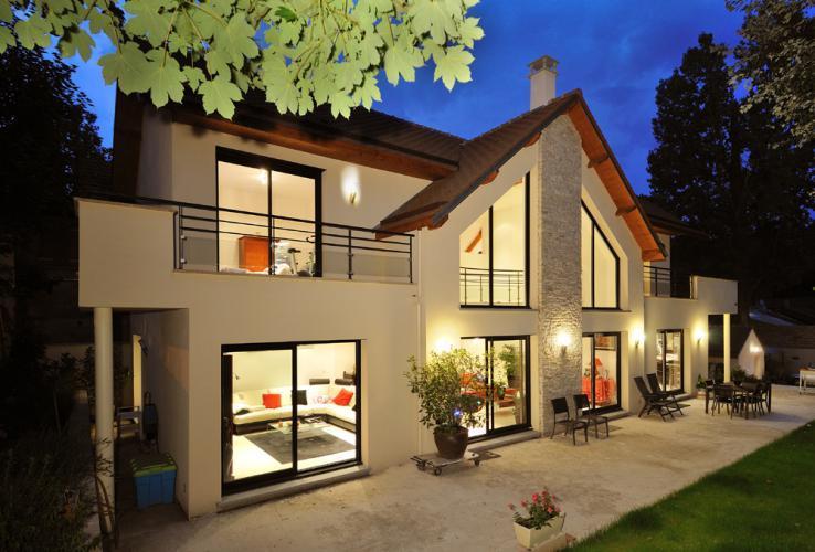 Villa Avec Terrasse : Villa avec balcon et terrasse Philippe GIORGI photo n u00b055