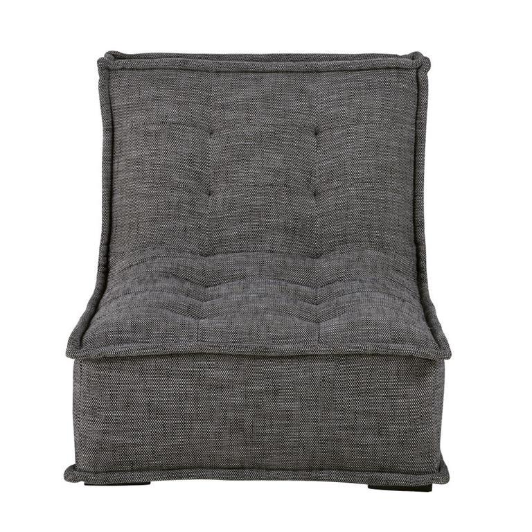 Chauffeuse de canapé gris charbon Dewey