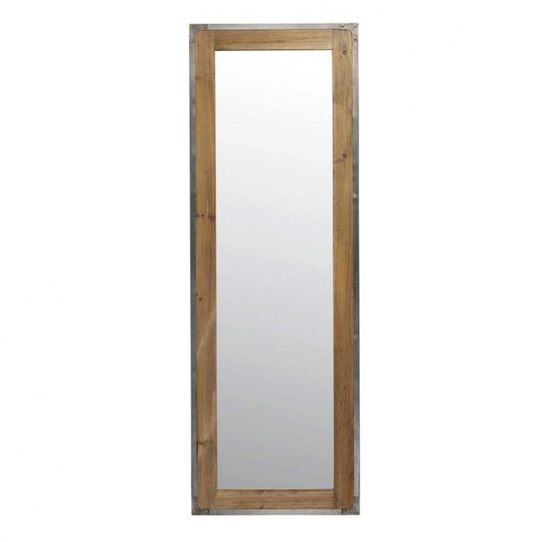 Miroir mural h 160 cm factory maisons du monde ref 111956 for Colle pour miroir mural