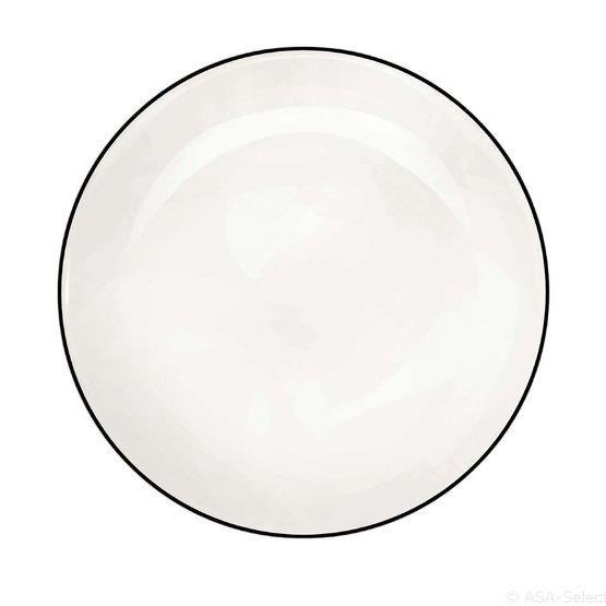 Assiette en porcelaine 21 cm Ligne - ASA