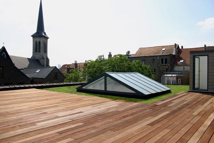 Toit De Terrasse Bois Fabulous Toit Terrasse Montr Al Roof Deck